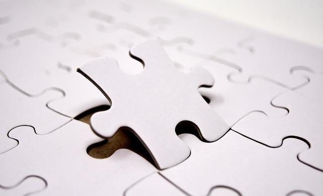 poslední část  puzzle